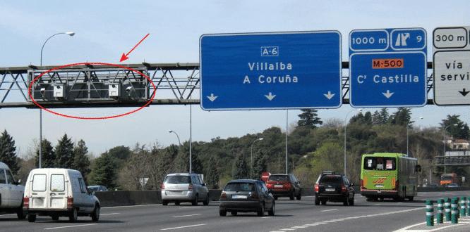 ¿Cuáles son los radares de Madrid que más multan?