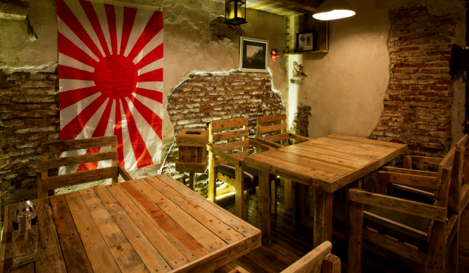 Yugo The Bunker: placer japonés «bajo tierra»