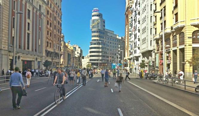 El 22 de septiembre se celebra el Día sin Coches en Madrid
