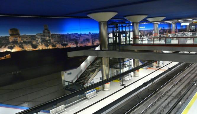 La línea 8 del metro cerrará durante 2 meses y medio a finales de enero