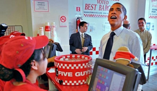 Los madrileños podremos comer las hamburguesas favoritas de Obama
