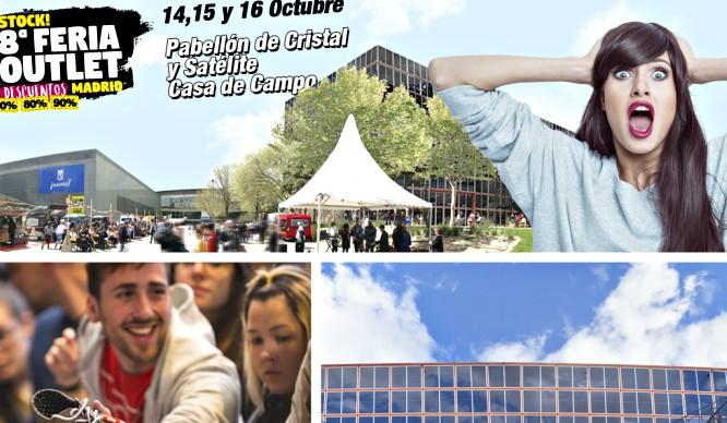 La 8ª edición de la Feria Outlet Madrid llega cargada de novedades irresistibles