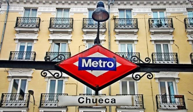 El Metro de Madrid renovará las escaleras mecánicas de la estación de Chueca
