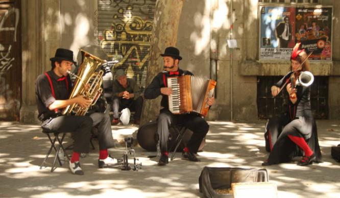 Los músicos callejeros podrán tocar en el centro de Madrid esta Navidad