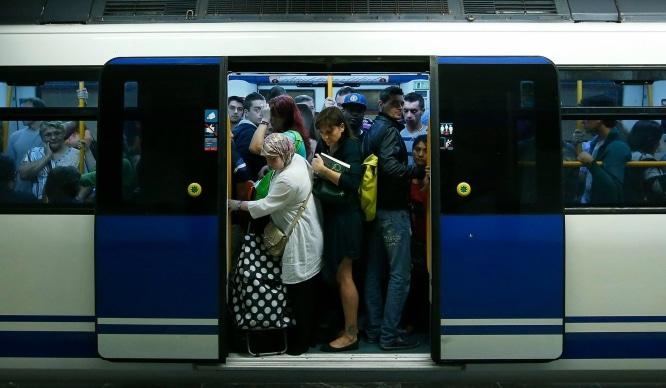 El Metro de Madrid hará paros parciales a partir de este viernes