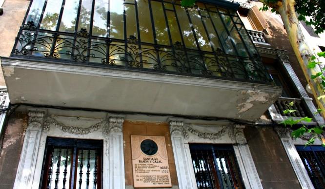 ¿Sabéis que van a construir en el palacete de Ramón y Cajal?
