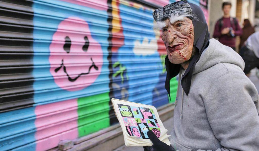 Pinta Malasaña 2017: Así han quedado las calles