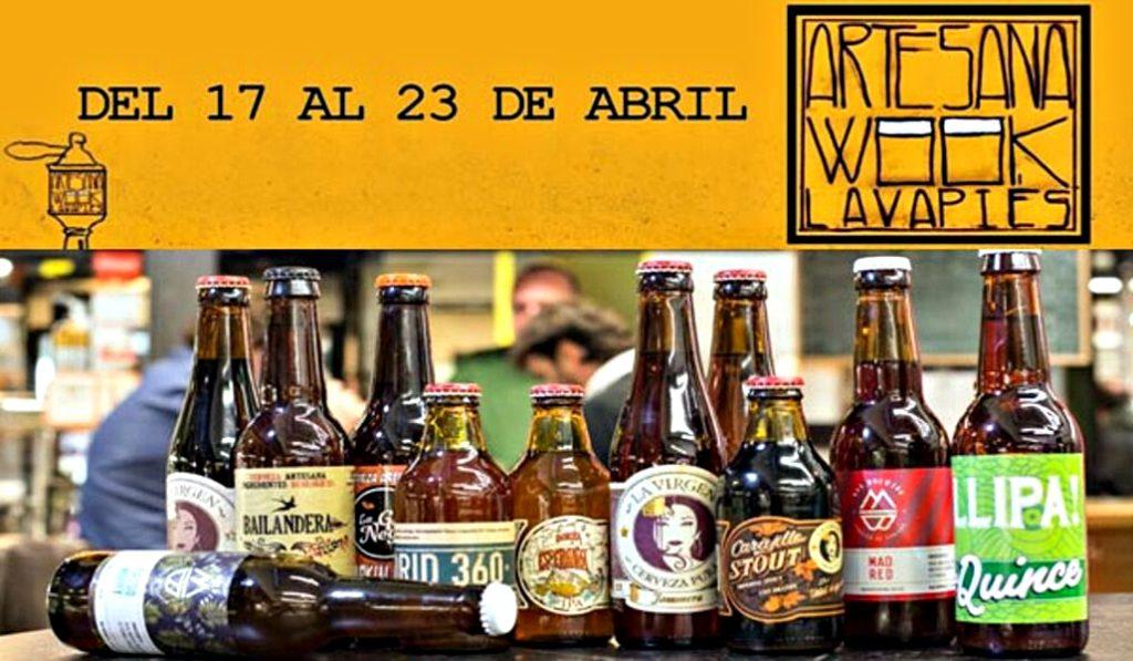 Llega la Artesanal Week Lavapiés para disfrutar la cerveza más casera