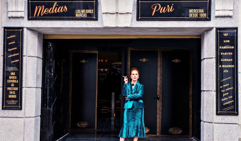 Medias Puri: una mercería de Madrid convertida en un club secreto