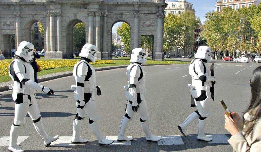 ¿Cómo sería Star Wars en Madrid?
