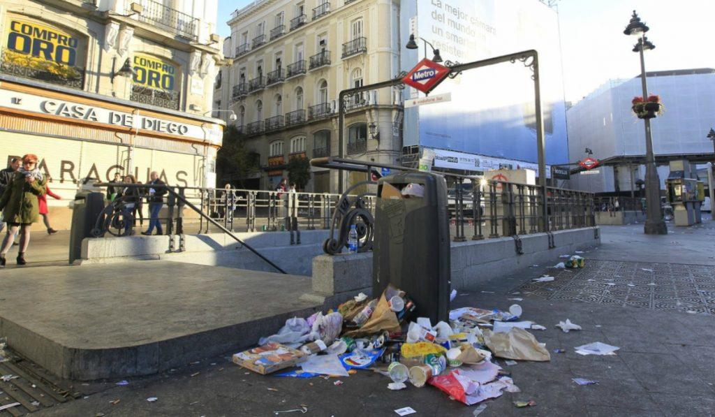 ¿Cuáles son los distritos más sucios de Madrid?