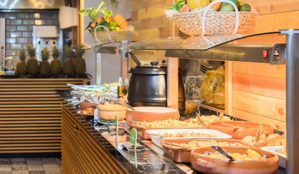 Seis increíbles buffets libres de Madrid