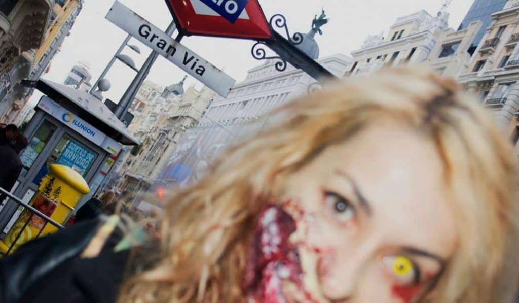 El apocalipsis zombie arrasará el metro de Madrid este año