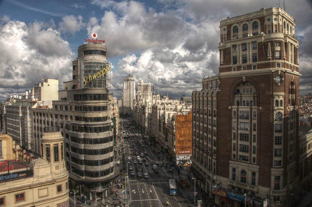 Estos son los primeros rascacielos que se construyeron en Madrid