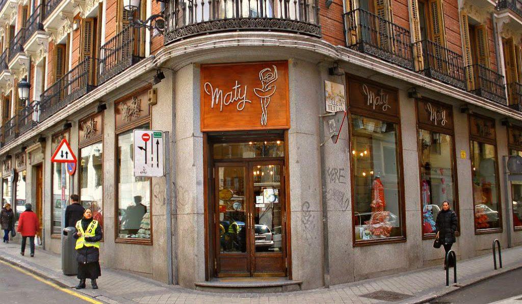 Maty, una tienda madrileña con mucha historia