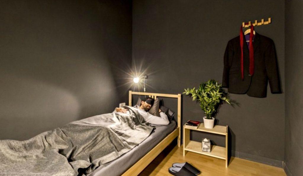 Abre en Madrid el primer local para echar la siesta