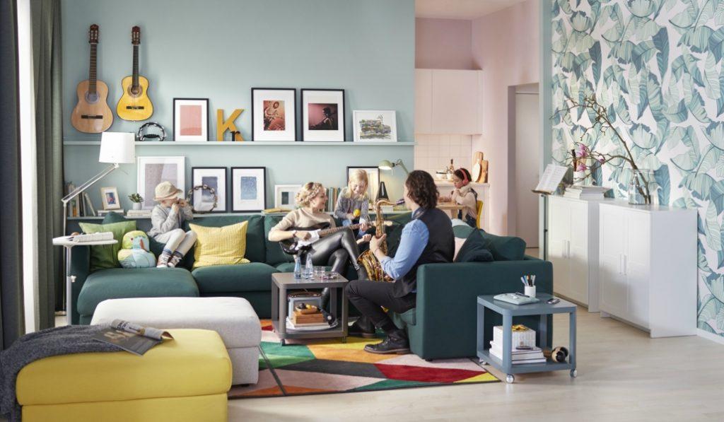Ikea instaló un salón en pleno Callao