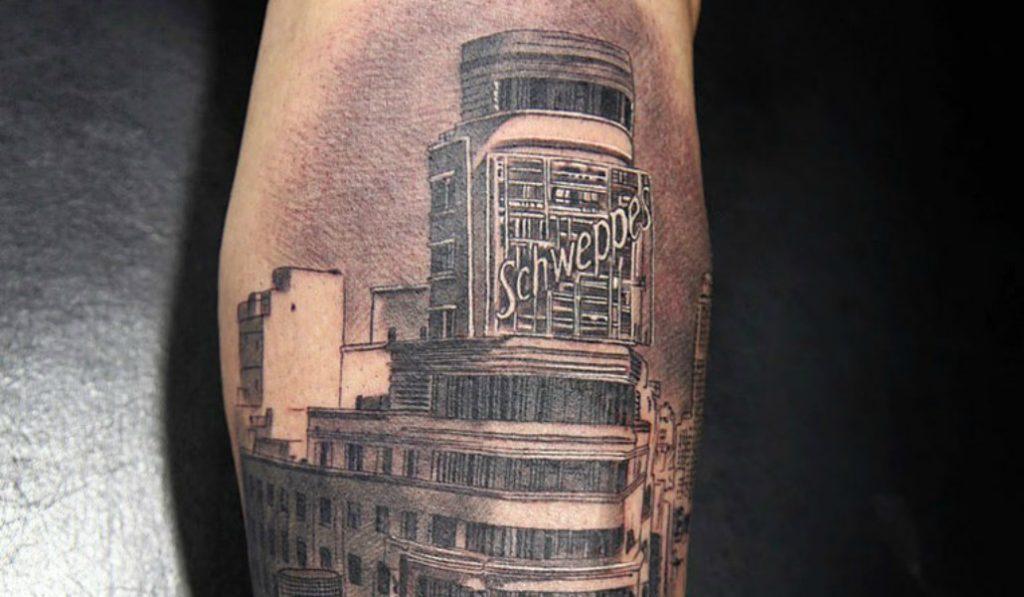 Cuando llevas tu amor por Madrid tatuado en la piel (literalmente)