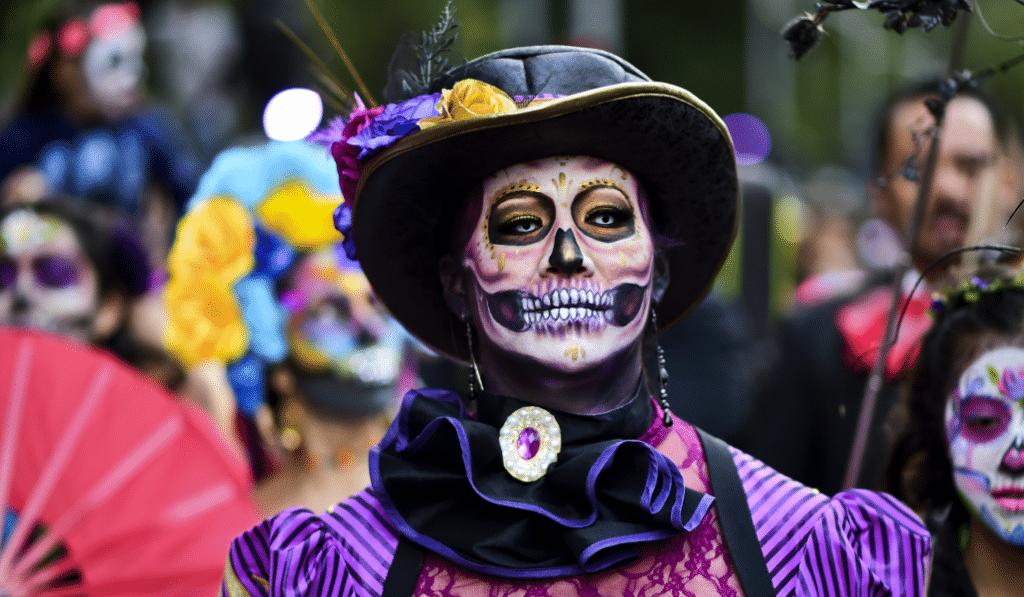 Día de Muertos: un Halloween con sabor mexicano en el Campo de Cebada