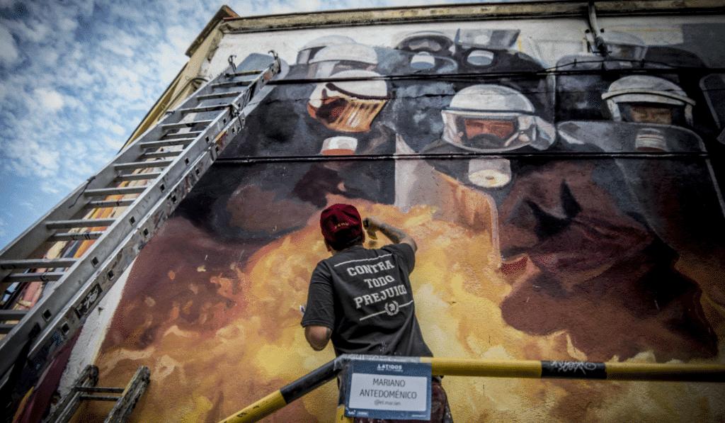 «El 'fenómeno Banksy' ha abierto muchas puertas al arte urbano»