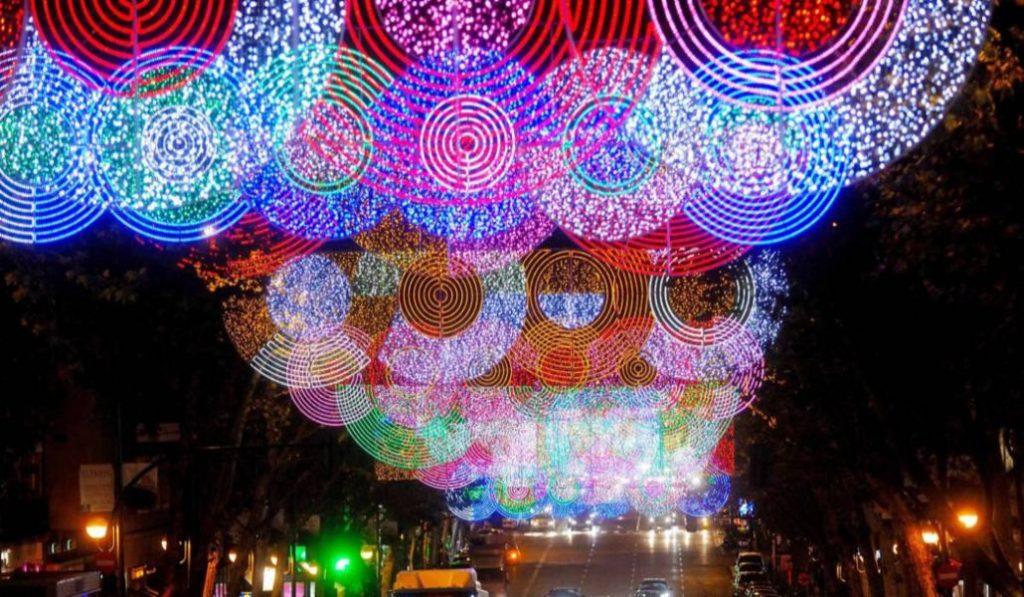 Las luces de Navidad ya están encendidas