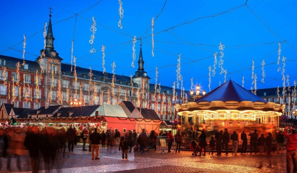 Comienza el Mercado de Navidad de la Plaza Mayor