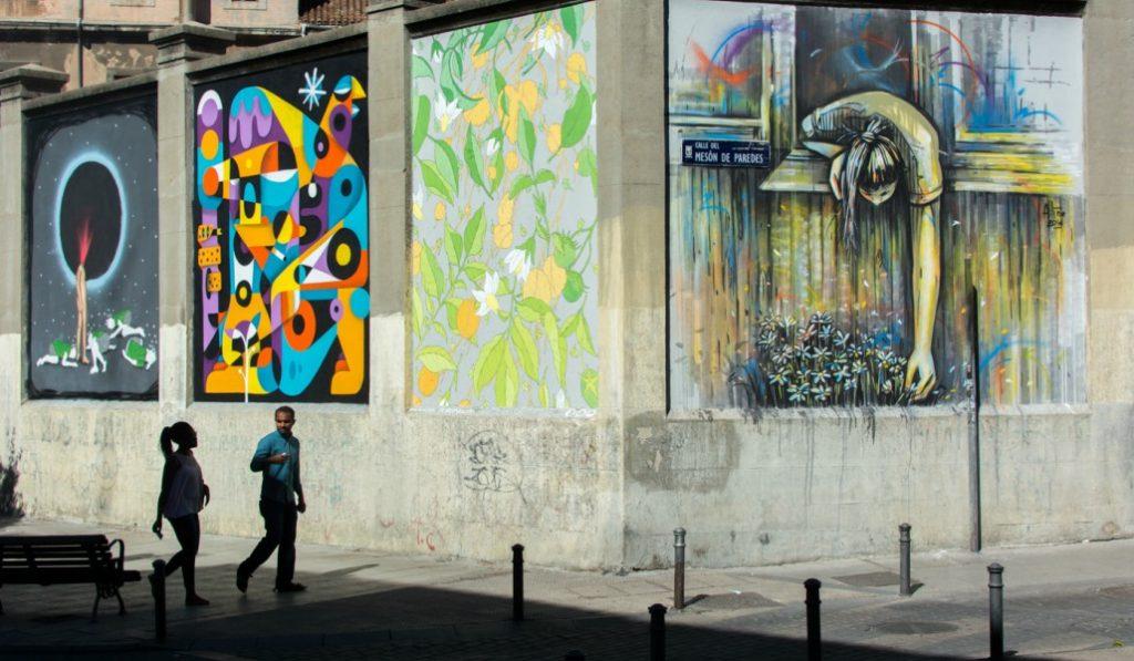 Intramuros 2017: jornadas de arte urbano en La Tabacalera