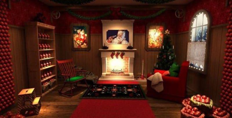 casa navidad sol madrid