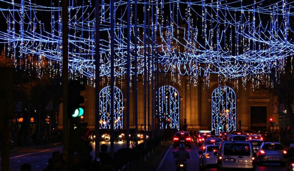 Así luce el espíritu navideño en las calles de Madrid