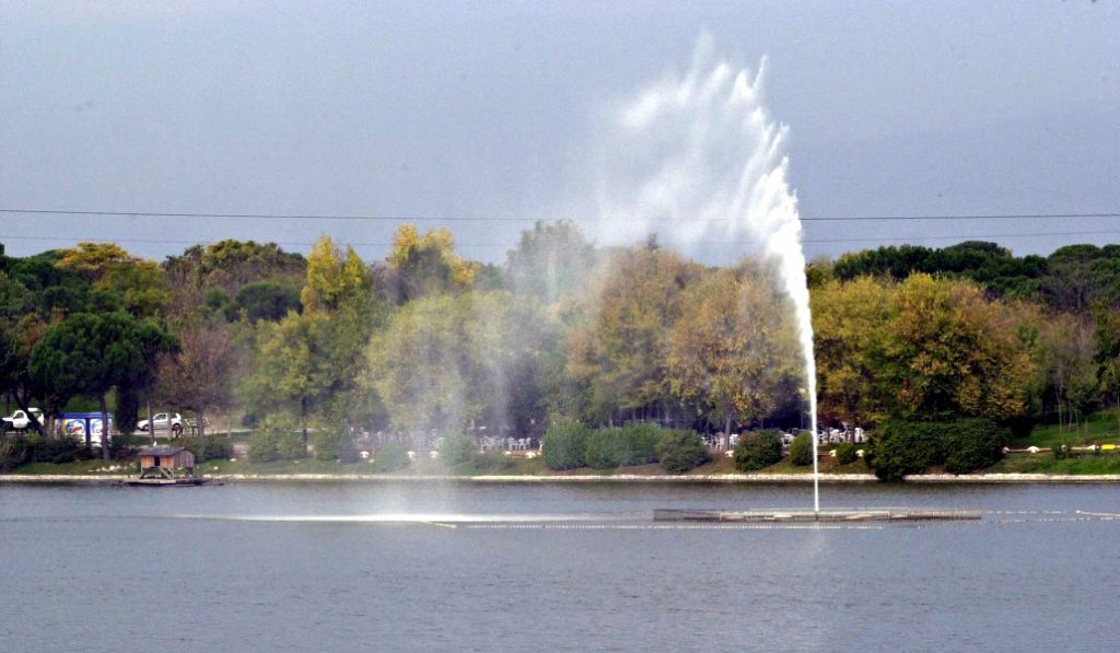 Hoy comienza el vaciado del Lago de la Casa de Campo