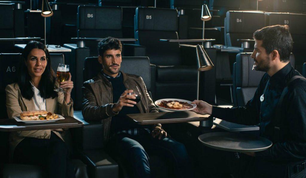 Madrid acoge el primer cine de lujo de España
