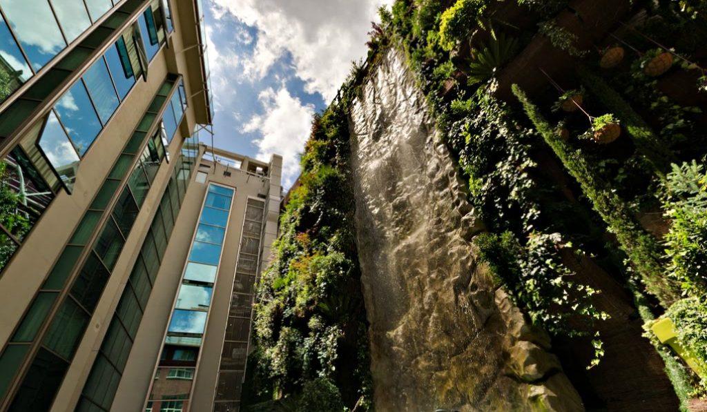Madrid posee el jardín vertical más grande del mundo