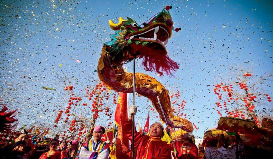 Madrid se viste de gala para celebrar el Año Nuevo Chino