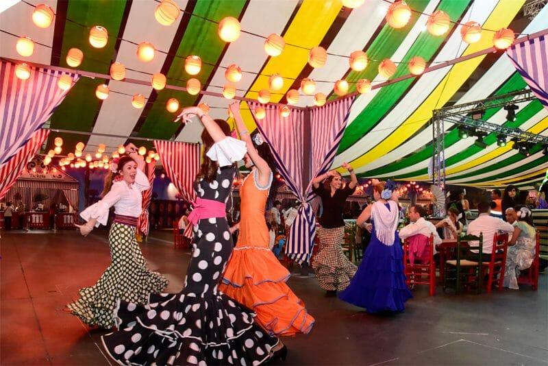 La Feria de Sevilla se celebra en Madrid y en septiembre