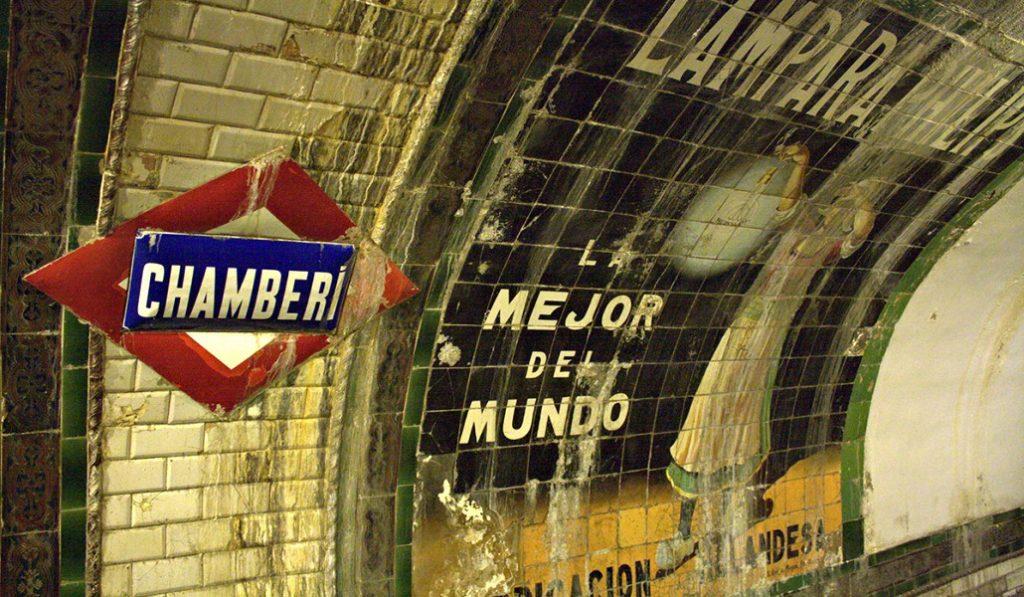 La estación fantasma de Chamberí cierra por humedades