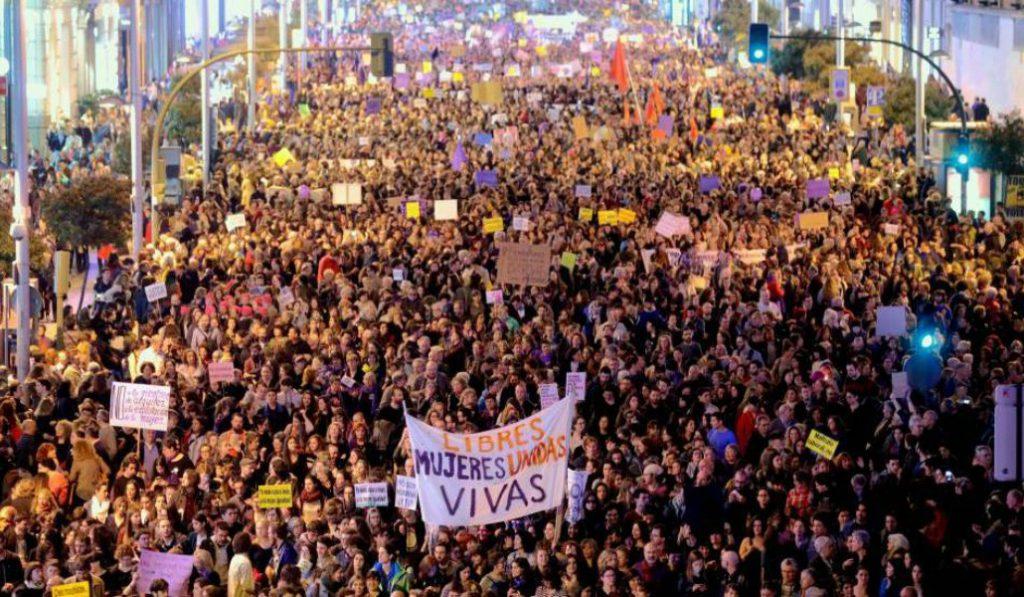 La concentración feminista del 8 de marzo en Madrid y otros planes para el Día Internacional de la Mujer