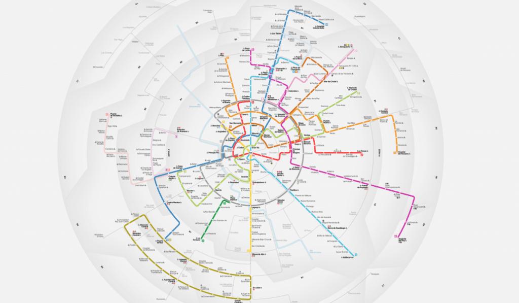 Si pensabas que solo existía un plano del Metro de Madrid estás muy equivocado