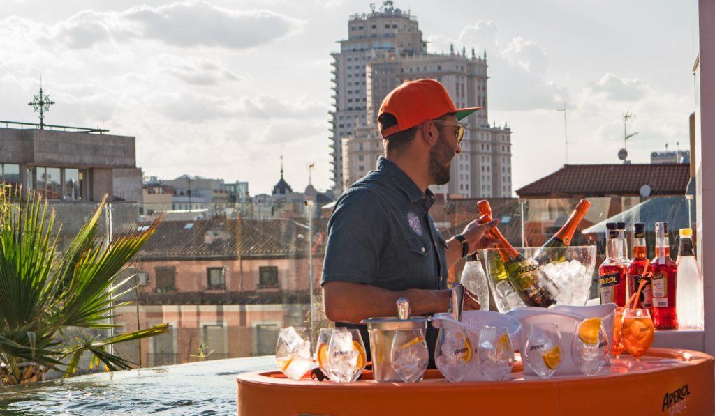 No hay verano sin terraza y no hay terraza sin Aperol Spritz