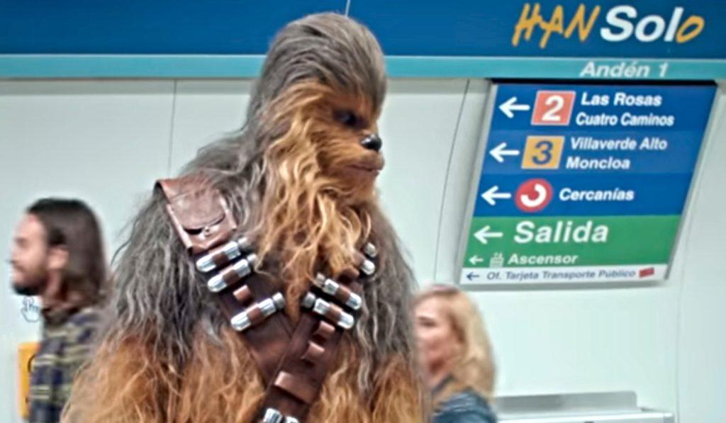 La nueva estrategia publicitaria de Star Wars conquista la estación de Sol
