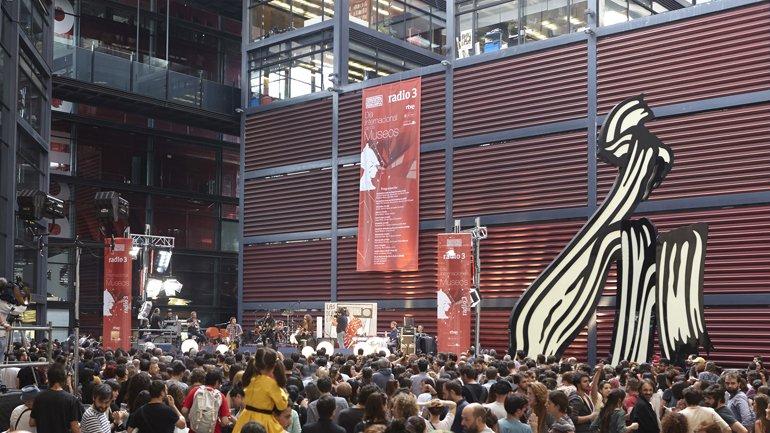 Reina Sofía celebra el Día Internacional de los Museos con la mejor música de Radio 3 en directo