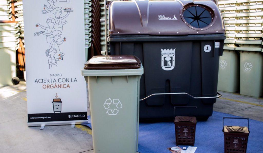 El contenedor marrón llegará a 12 distritos de Madrid