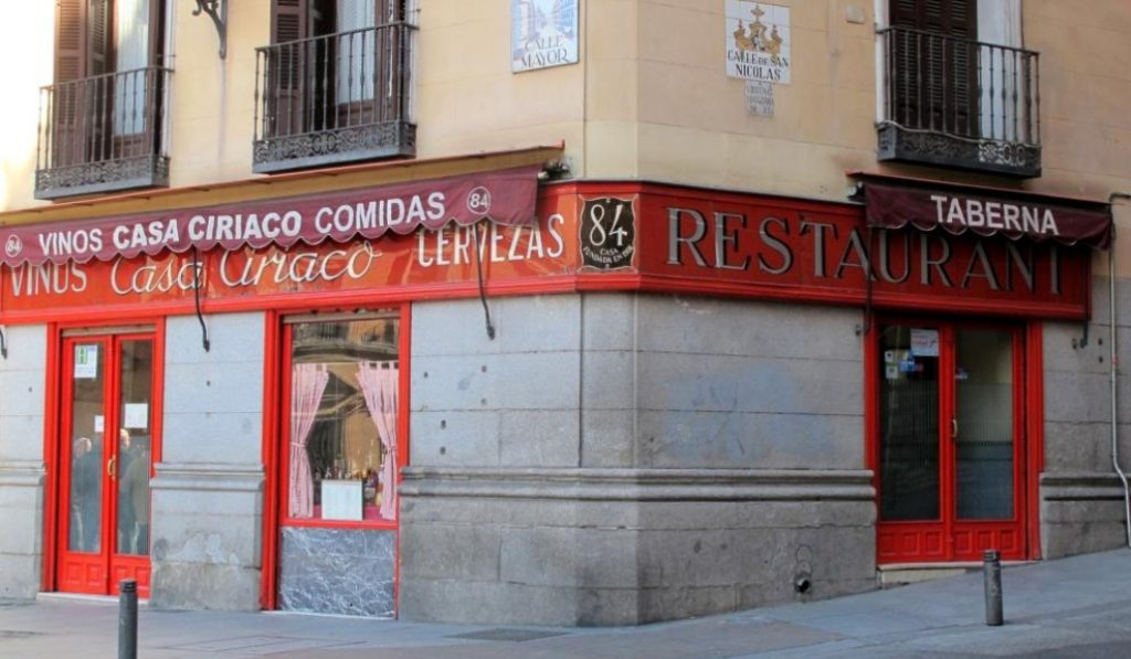 El mítico restaurante Casa Ciriaco reabrirá con nueva carta y nuevos dueños