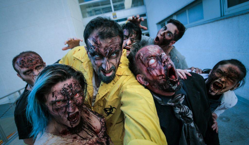 El apocalipsis zombie ha llegado y empieza en Madrid