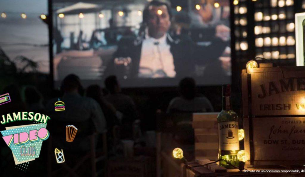 Cine de verano, videojuegos y vistas increíbles en el Jameson Video Club