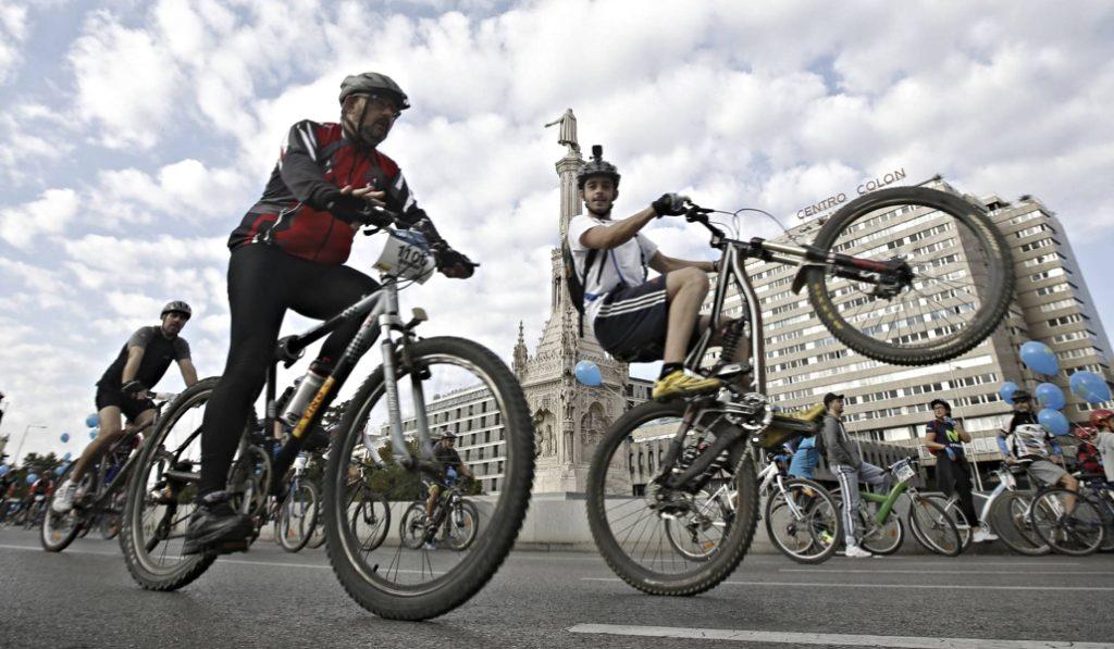 Más libertad para los ciclistas con la nueva normativa de Movilidad del Ayuntamiento