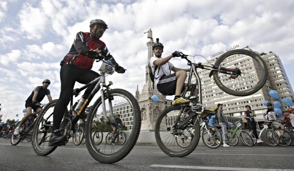 Así está evolucionando el uso de la bici en Madrid