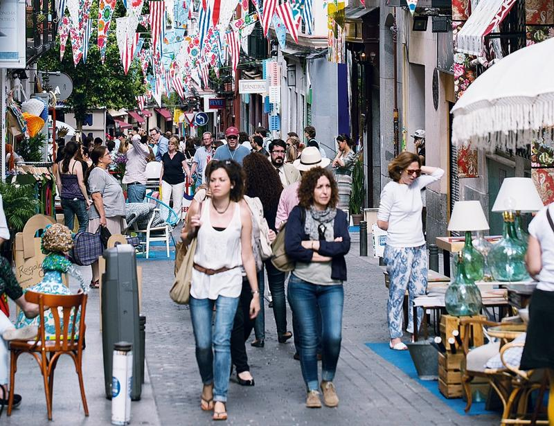 El barrio de las Letras redecora todas sus calles este fin de semana