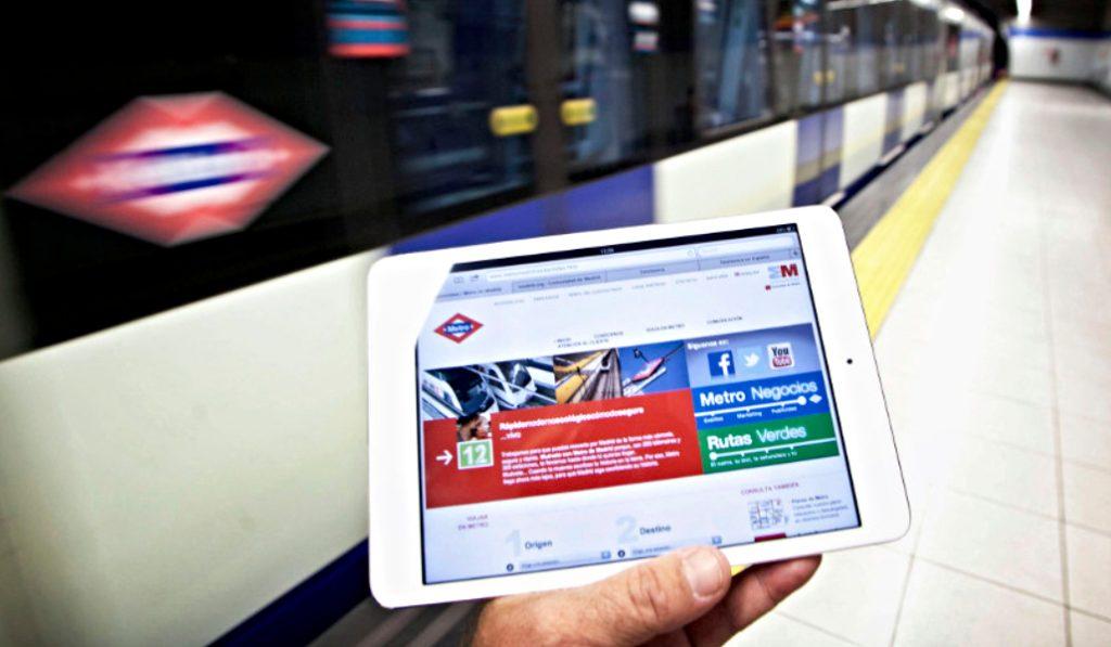 Metro de Madrid permitirá conocer los horarios de las líneas en tiempo real en su aplicación