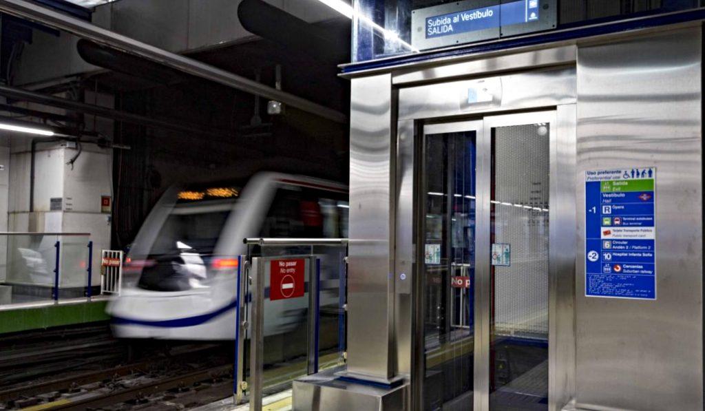 La estación de Príncipe Pío cuenta con dos nuevos ascensores