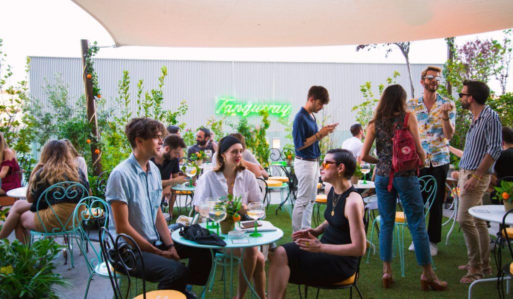 Tanqueray Flor de Sevilla Sunset Bar, la terraza madrileña para vivir un verano a la andaluza